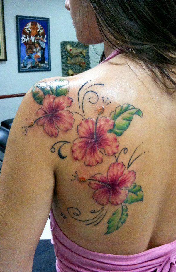 65 Beautiful Flower Tattoo Designs Cuded Hibiscus Tattoo Hibiscus Flower Tattoos Beautiful Flower Tattoos