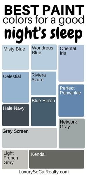 What Colors Make You Sleep Better? (Best Bedroom Colours) images