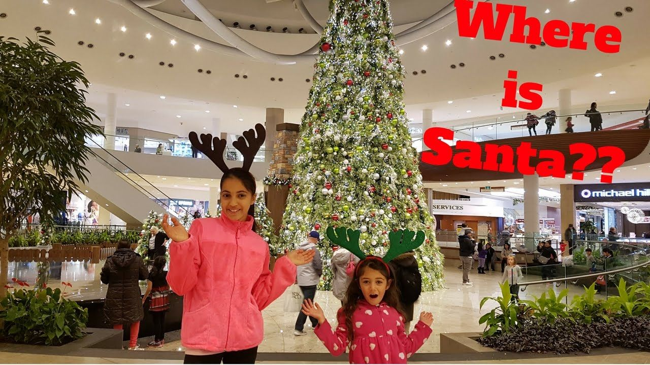 Looking For Santa At The Mall Family Vlog  https://youtu.be/UfH8mMv6hM8