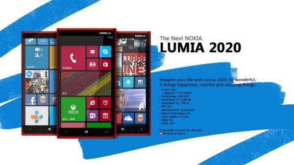 Nokia Lumia 2020 needs Android not Windows Nokia
