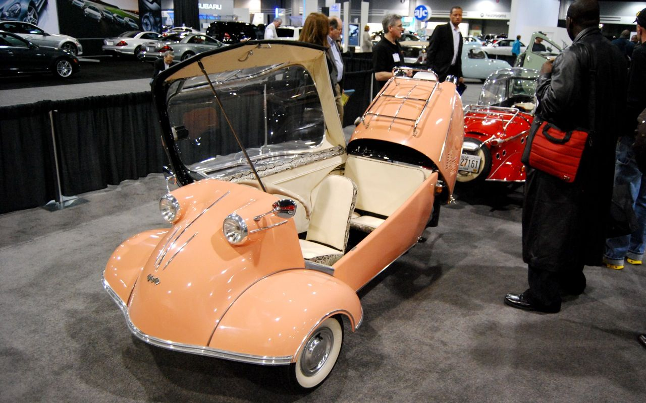 Car interior paint job - Atlanta Auto Show Boasts Big Display Of Tiny Cars