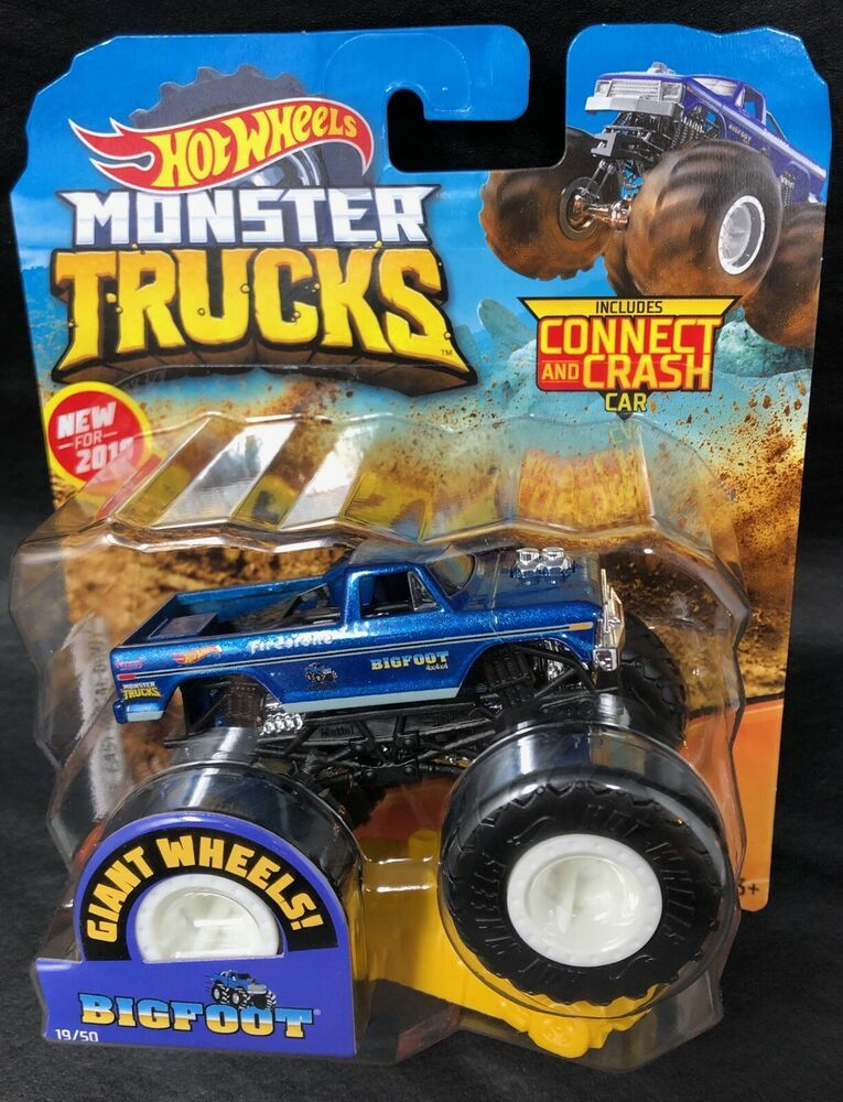 New Hot Wheels Monster Trucks Bigfoot 1 64 Brand New 2019 Rare Htf Fast Shipping Hotwheels