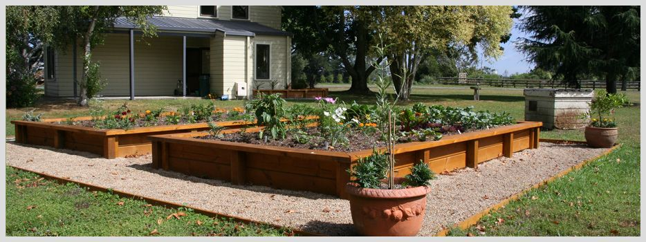 Charmant Rural Property Raised Vegetable Garden   Speciality Features, Higher Ground  Landscapes Hamilton