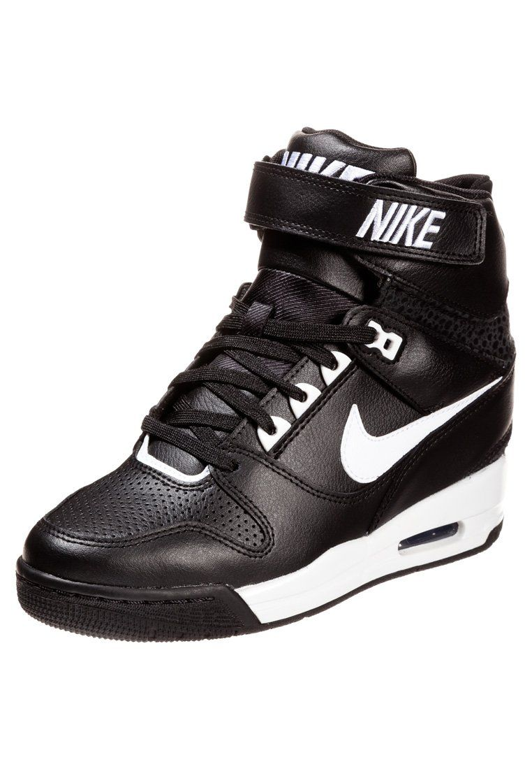 nike air revolution sky hi noir