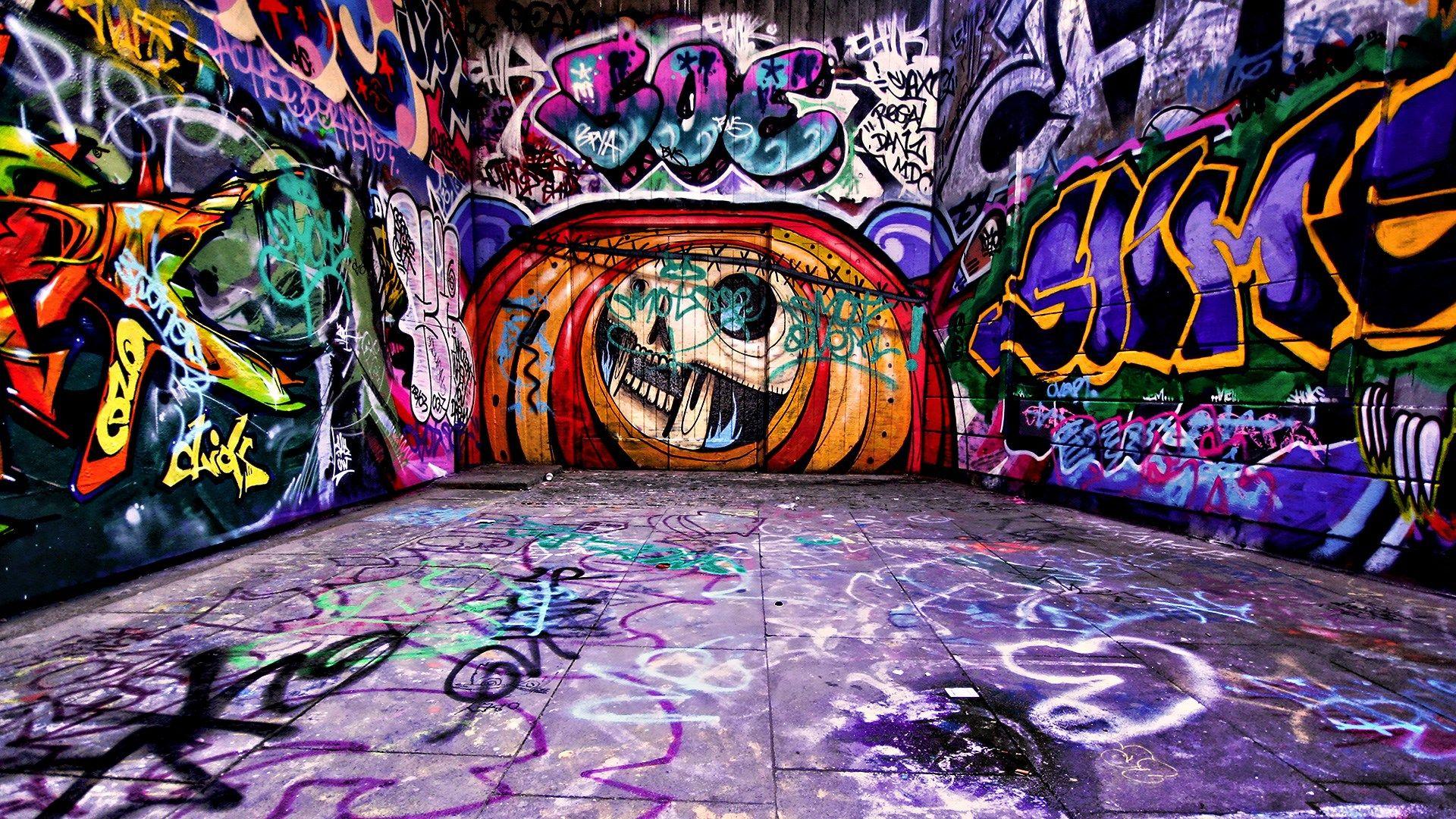 Edgar Fletcher Grafiti Picture Background Hd 1920 X 1080 Px  ~ Papel De Parede Grafite Para Quarto