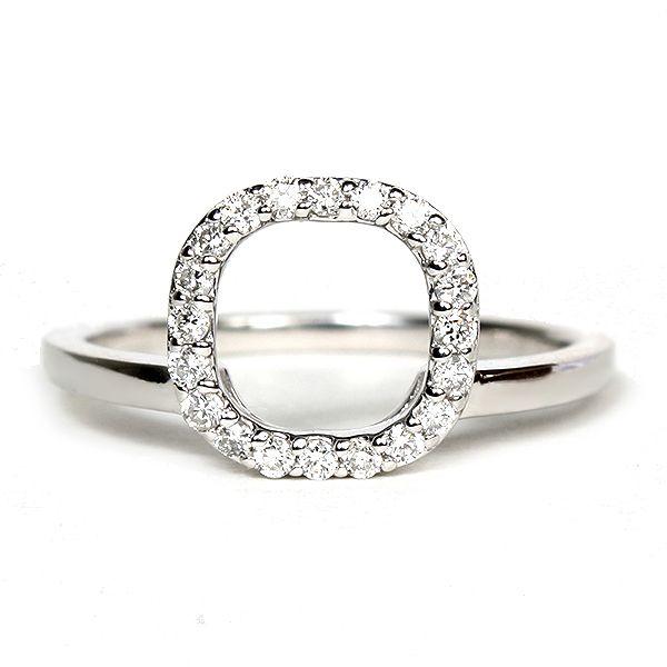 14k White Gold Diamond Halo Enhancer Ring 116 14135 Hudson Poole Fine Jewelers Enhancer