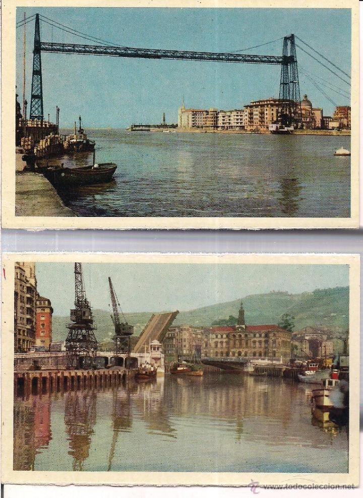 Bilbao Puente De Vizcaya Y Ria Y Puente Gral Mola Heliotipia Ar Esp Sin Circular Fotos De Bilbao Bilbao Puentes