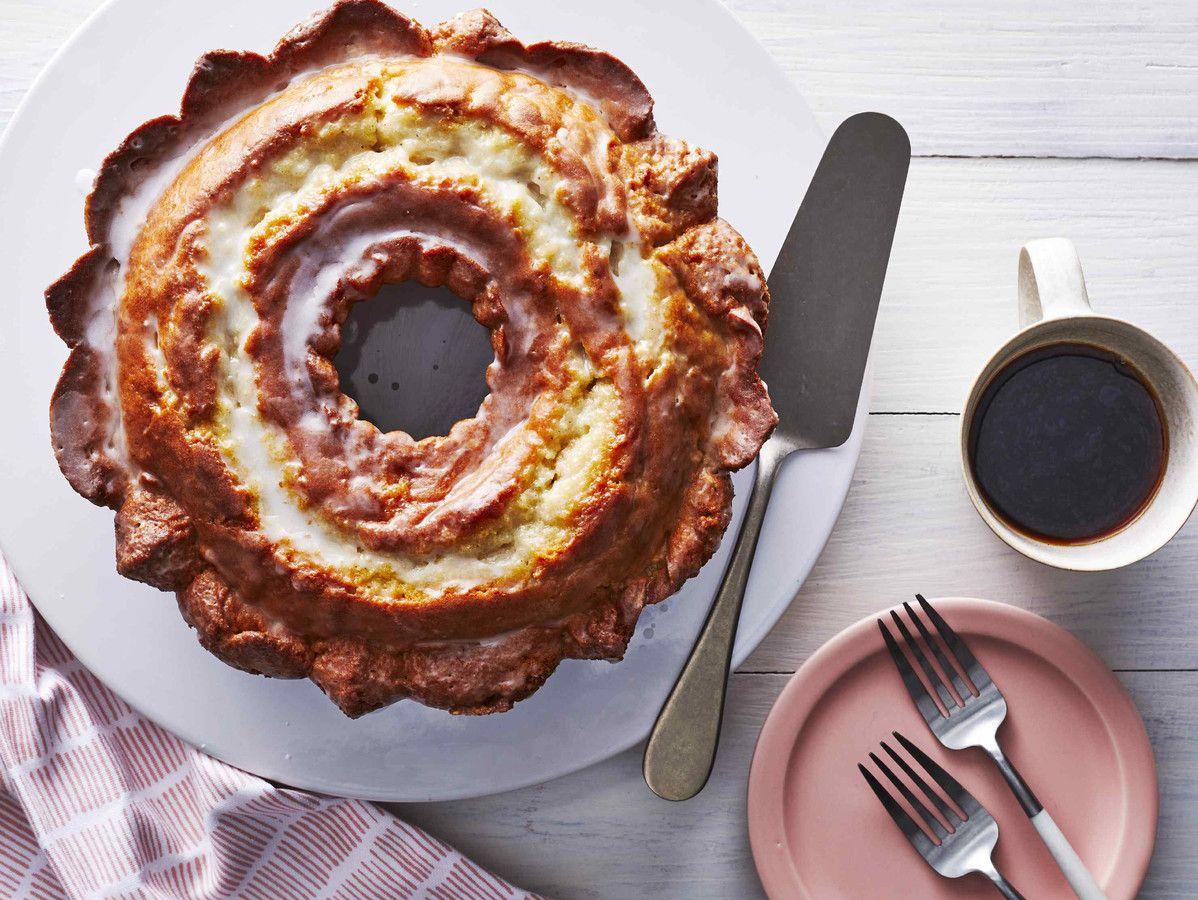 Glazed Buttermilk Donut Cake Recipe In 2020 Desserts Cake Donuts Cake Tasting