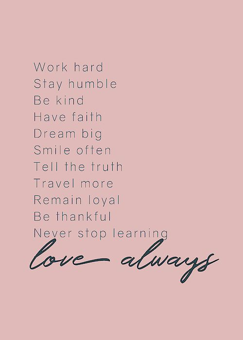 Love Always #inspirational #minimalism by Andrea Anderegg