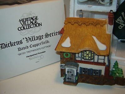 from David Copperfield Dept 56 Dickens Village Betsy Trotwood/'s Cottage