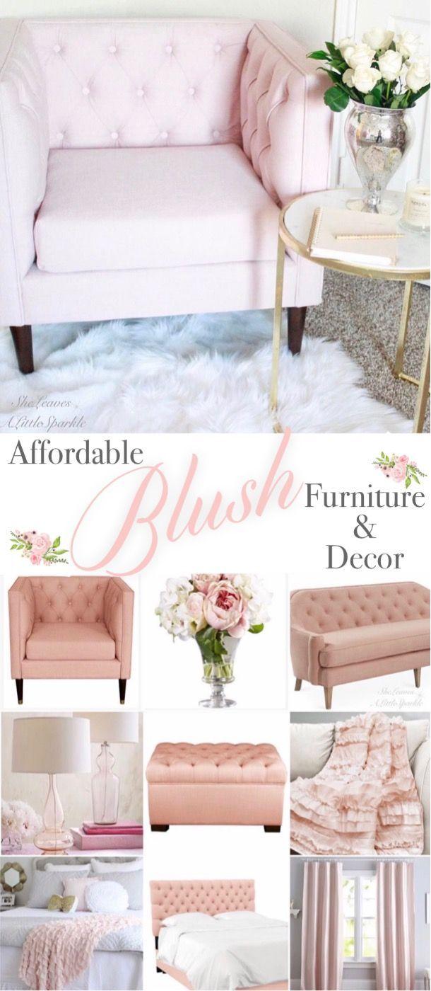 blush furniture decor beautiful bedrooms home decor. Black Bedroom Furniture Sets. Home Design Ideas