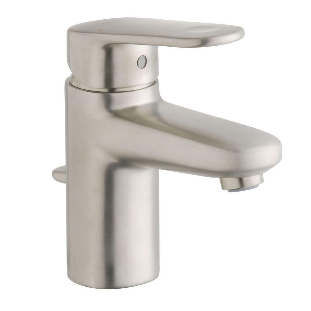 Grohe Europlus Single Hole Single Handle Low Arc Bathroom Faucet