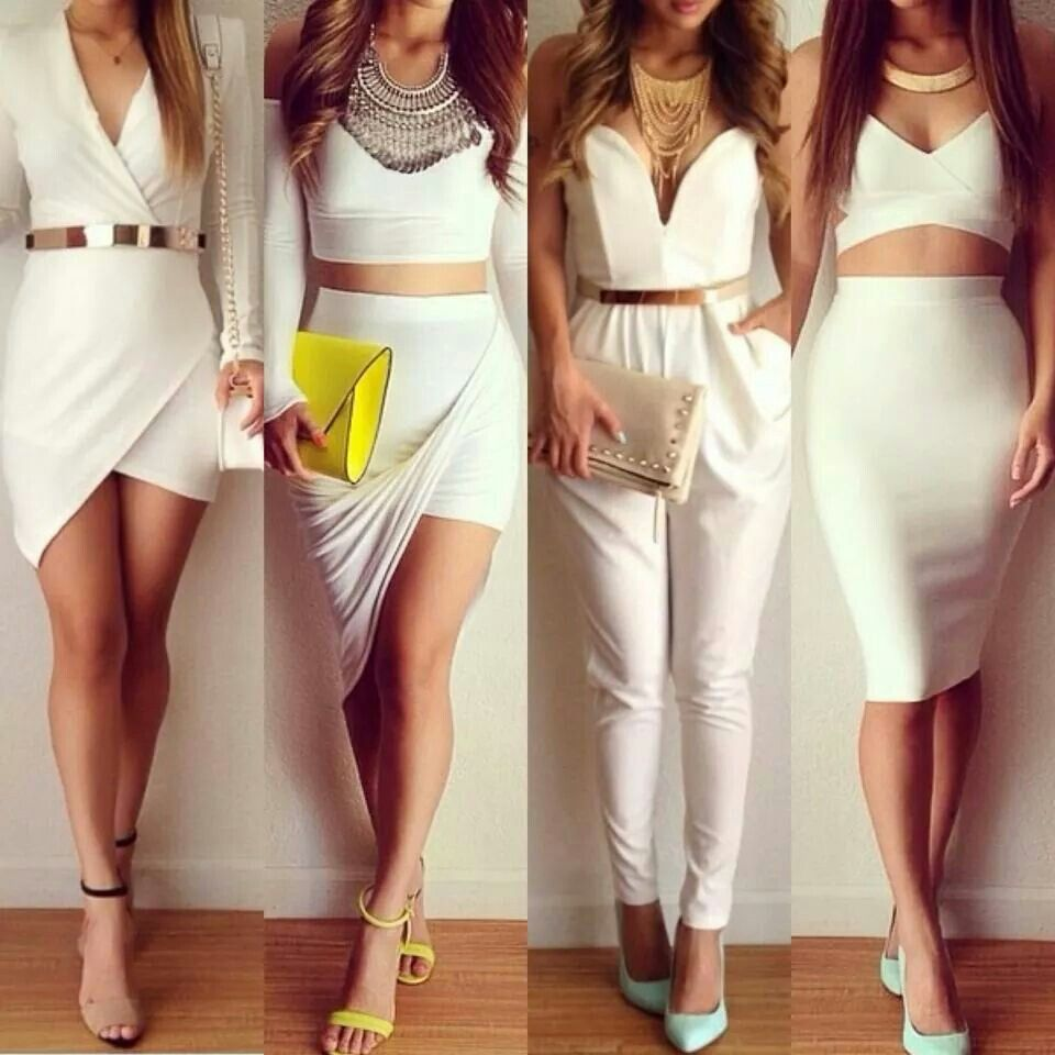 White outfit's