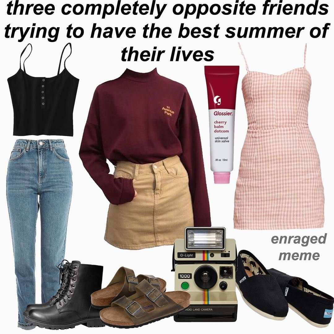 11 5 K Mentions J Aime 110 Commentaires Zoey Enragedmeme Sur Instagram The Middle One Is Kinda Not A Summ Clothes Vintage Dresses For Teens Fashion [ 1080 x 1080 Pixel ]