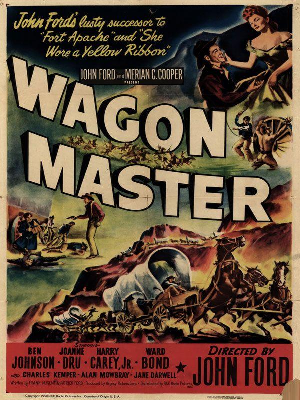 Wagon Master 1950 Ben Johnson Joanne Dru Harry Carey Jr Ward Bond Charles Kemper Alan Mowbray Jane Darwell Western Movie Wagon Western Movies