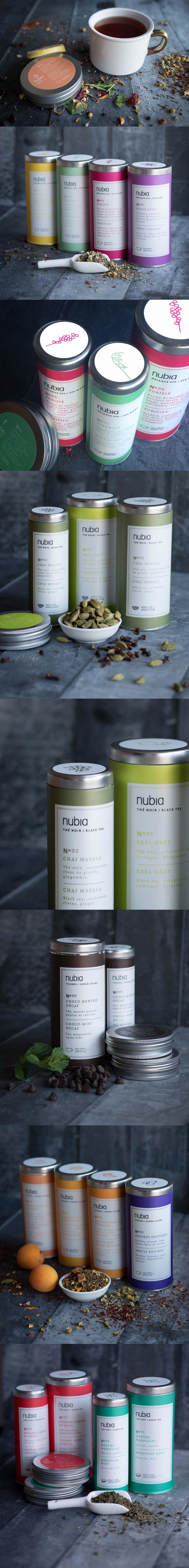 Nubi Spa Tea #Packaging Más