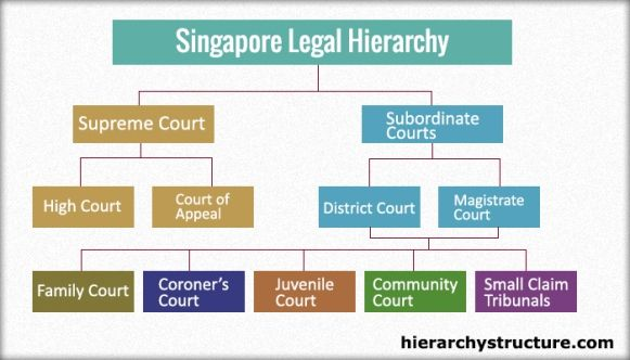 Hierarchy Of Singapore Legal System Legal System Political System