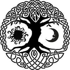 Celtic #Irish #Gaelic #tattoo #ink #Sun #Fire #Tree