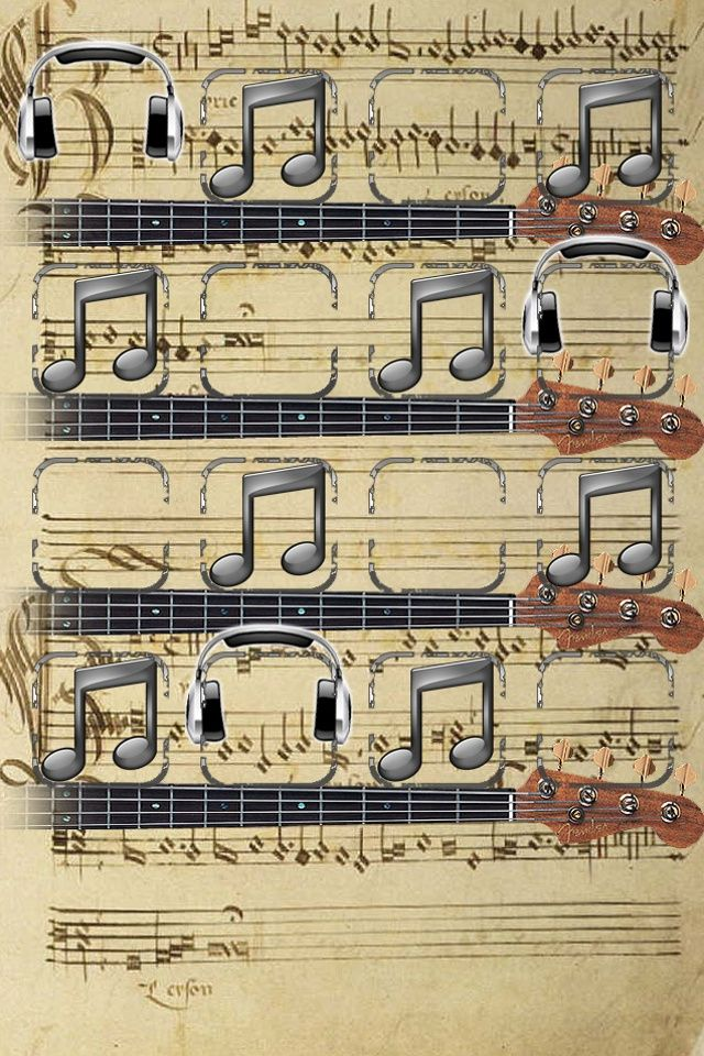 Music Note Iphoneshelf Wallpaper For Music Lover Phone Wallpaper Stunning Wallpapers Ipod Wallpaper Sheet music wallpaper iphone
