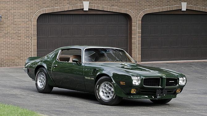1973 Pontiac Trans Am ...