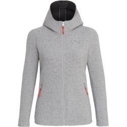 Salewa W Sarner 2L Wool Full-Zip Hoody | 36,32,34,38,40,42 | Grau | Damen Salewa