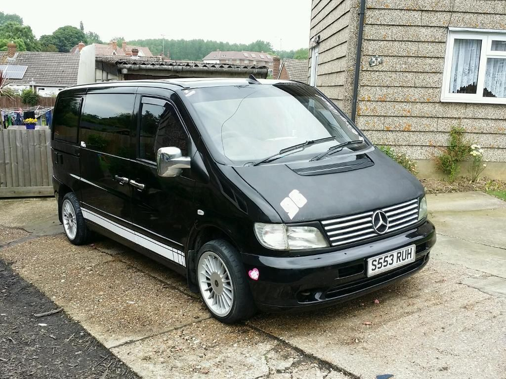 Mercedes Vito 108d Day Van Camper Swap | Wolverhampton, West Midlands |  Gumtree
