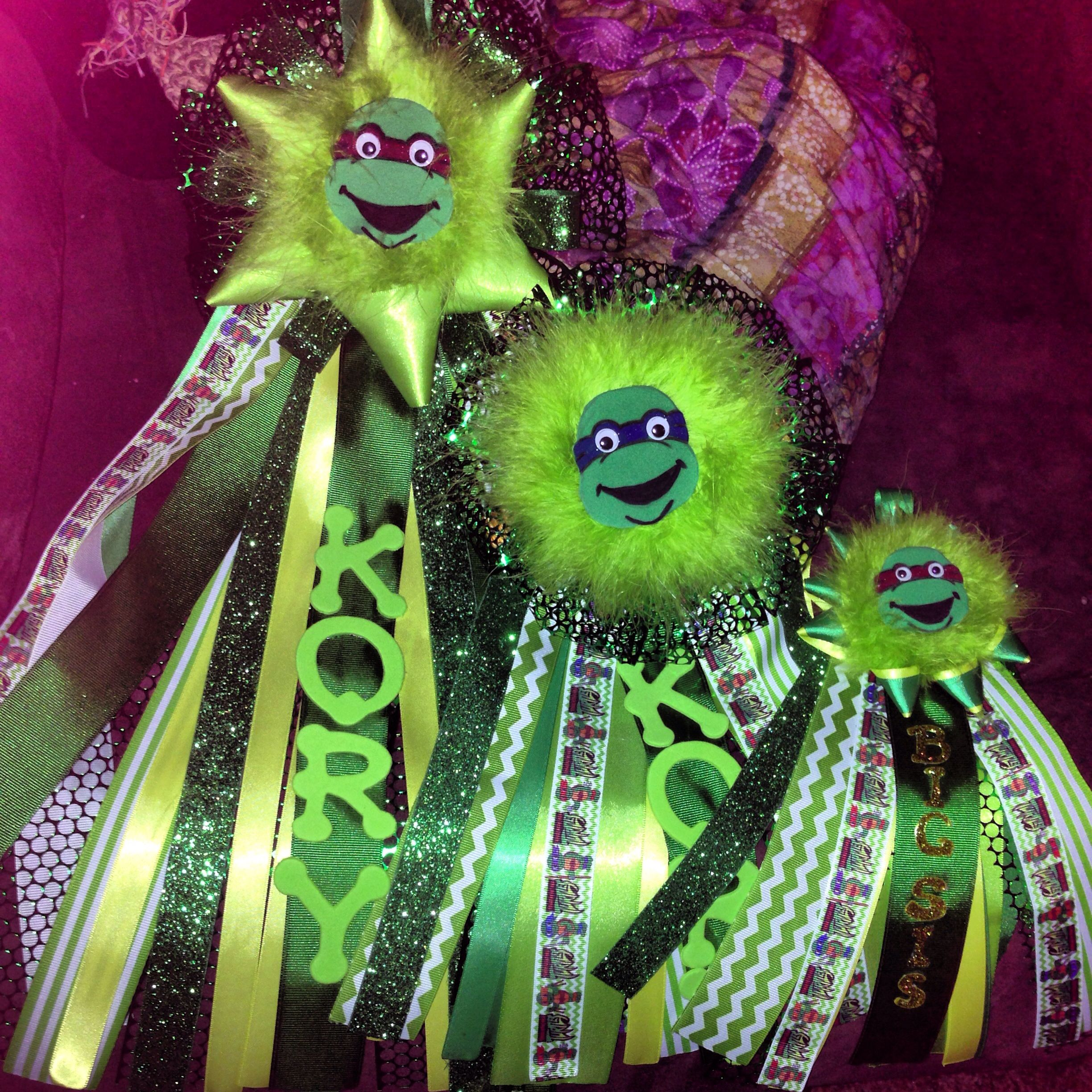Ninja Turtle Baby Shower Mums ******when The Baby Finally Gets