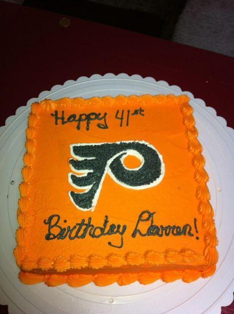 Flyers cake Mmm Flyers