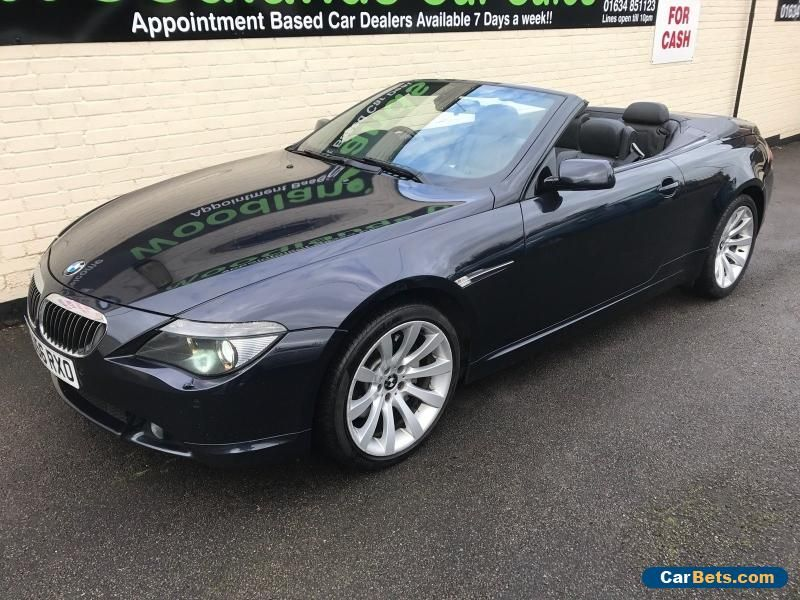 Car For Sale 2006 56 Bmw 6 Series 650i M Sport Convertible