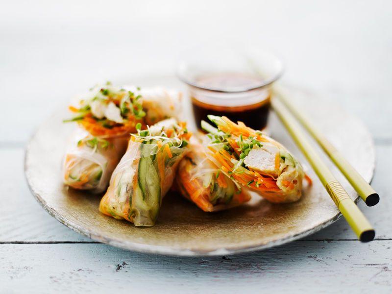Vietnamilaiset kanarullat