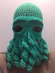 d29c7832355 Ravelry  Cthulhu Octopus hat pattern by Amy Hitchcock