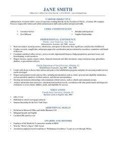 Blue Timeless Resume Template For Download In Ms Word Document  M