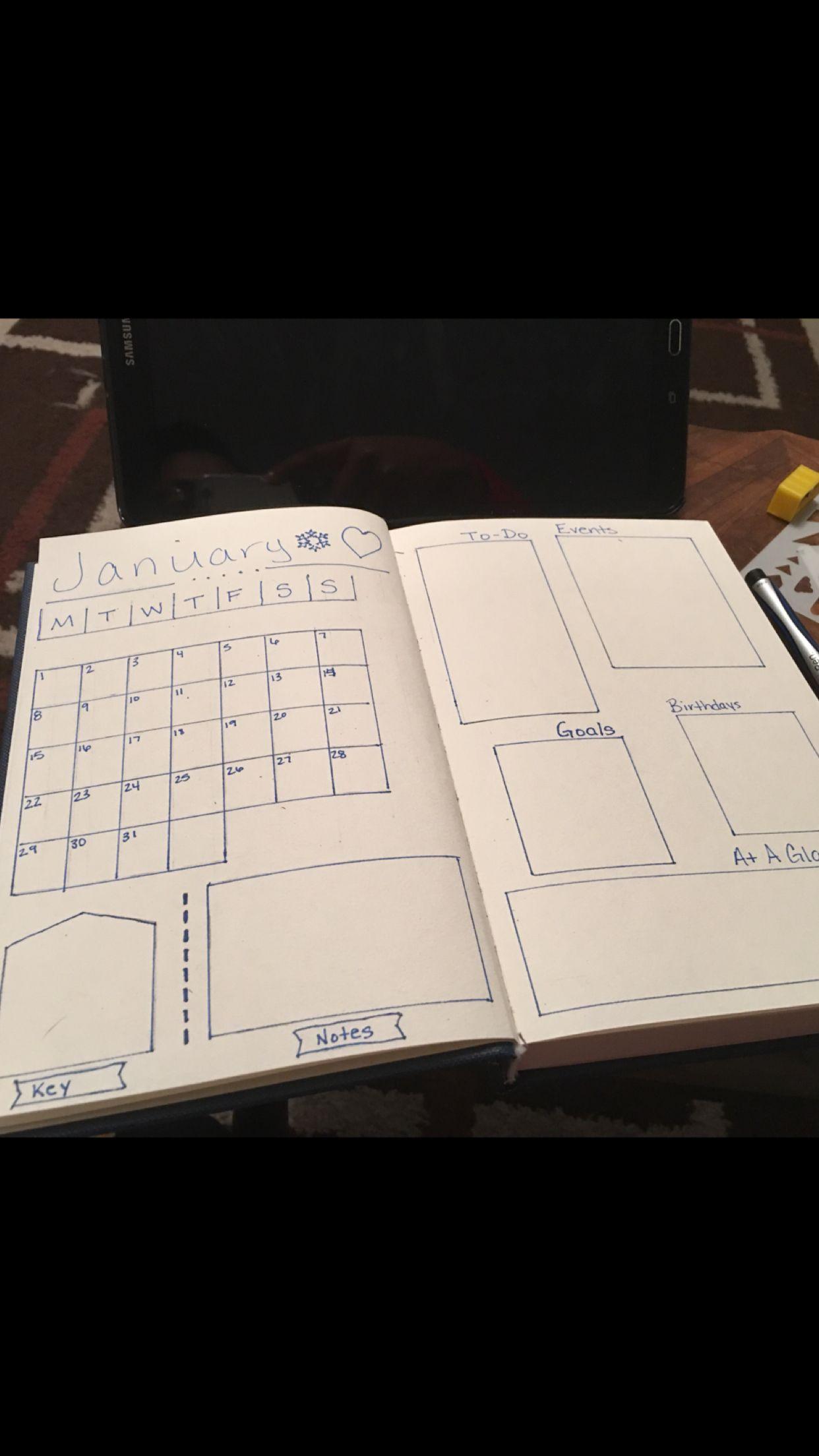 my bullet journal bullet journaling pinterest bullet journal journal und tagebuch. Black Bedroom Furniture Sets. Home Design Ideas