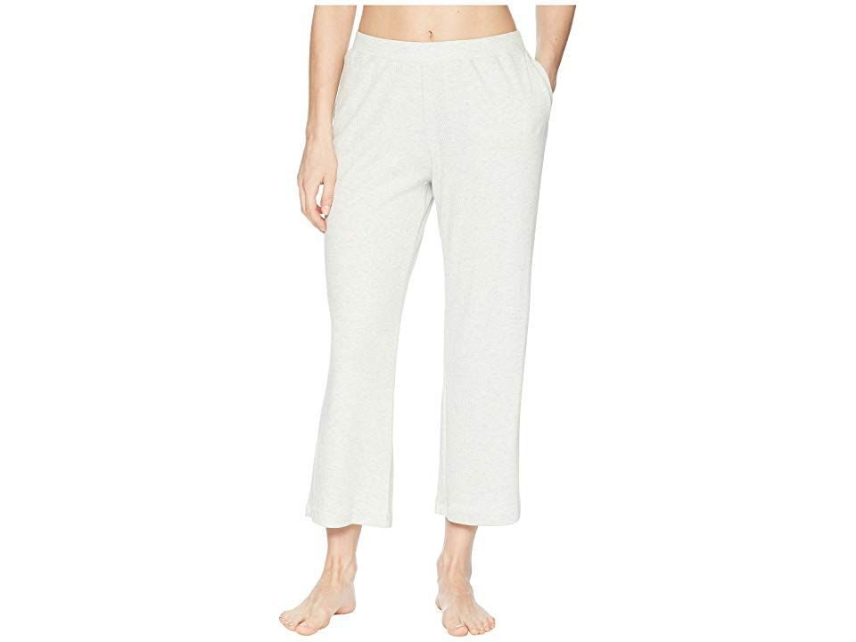 Skin Noelle Crop Pants Heather Grey Womens Pajama Comfort is guaranteed in these Skin Noelle Crop Pants Relaxed fit Elastic waistband Side hand pockets Cropped flared hem...