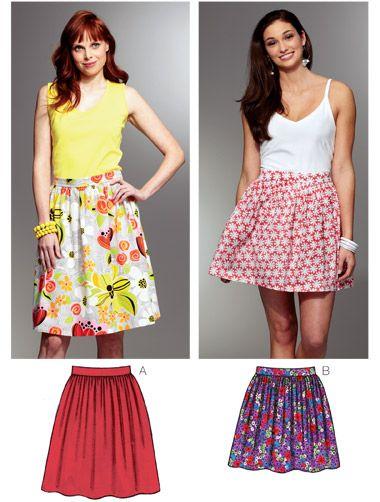 Kwik Sew Skirt Pattern | Things to Sew | Pinterest | Nähen