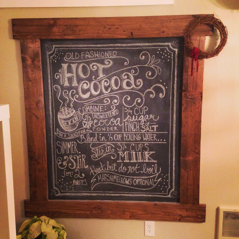 Chalkboard Frame   Pinterest   Chalkboard frames, Chalkboards and ...