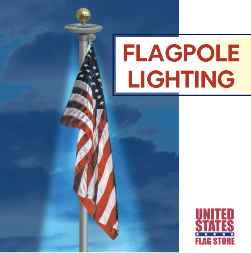 Flagpole Lighting Flagpole Lighting Flag Store Flag Pole