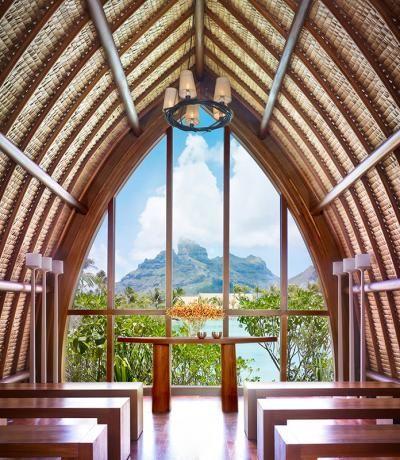 Wedding Chapels Near The Sea Four Seasons Resort Bora In Tahiti