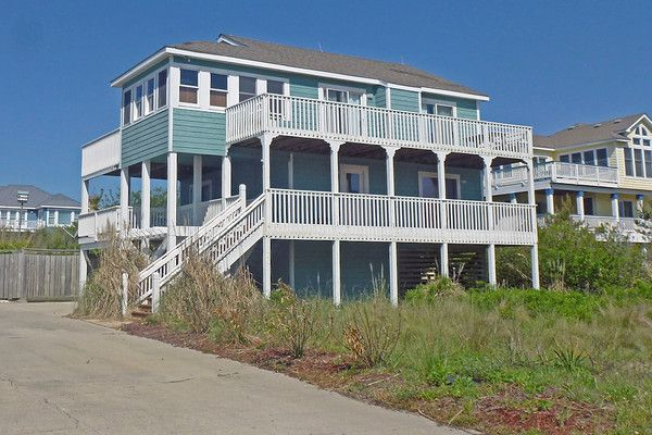 This four-bedroom, semi-oceanfront vacation home is sure to delight! This home offers amazing ocean views, a private pool and close to all that Corolla has to offer. This property is close to the beach, shopping, dining, and the historic areas of Corolla. Explore the historic Whalehead Club, climb the Currituck Beach Lighthouse, or soak up some sun at the beach or by the private pool. In the evenings, relax in the private hot tub, or read a book on one of the many decks. Complimentary WIFI…