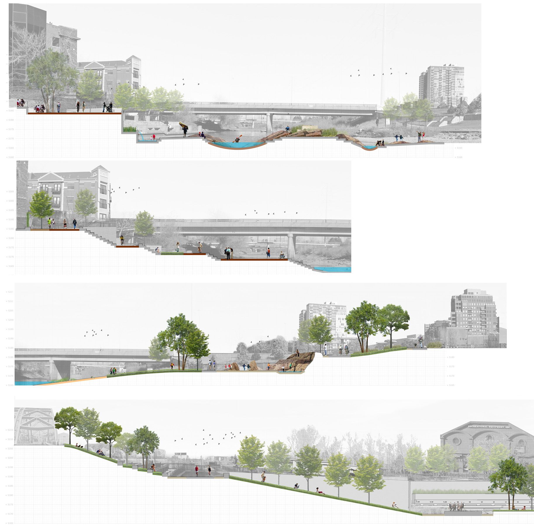Confluence park jimmy hughes site work arch for Bc landscape architects