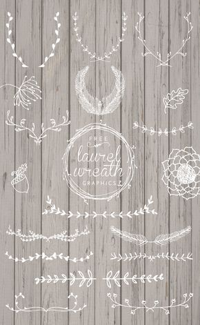 Free Laurel Wreath Graphics | Pinterest | Beautiful hands, Hand ...