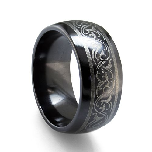 really cool titanium ring my style pinterest