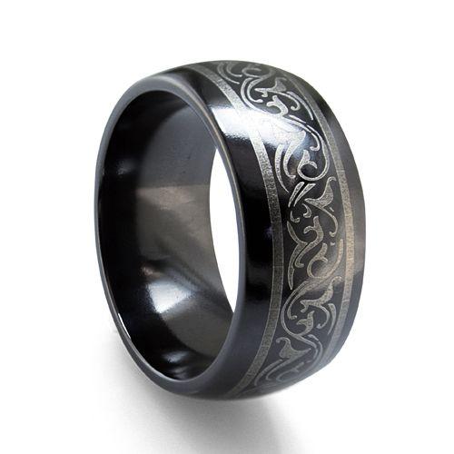 Really cool titanium ring My Style Pinterest Titanium ring