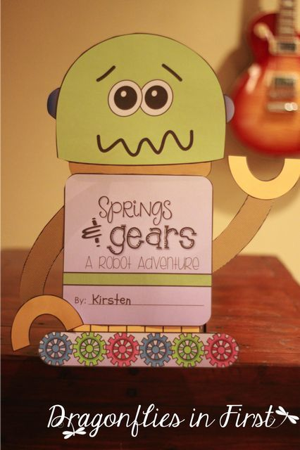 Springs & Gears. Love this adorable writing lesson! This unit is filled with fantastic spring writing and reading activities!!