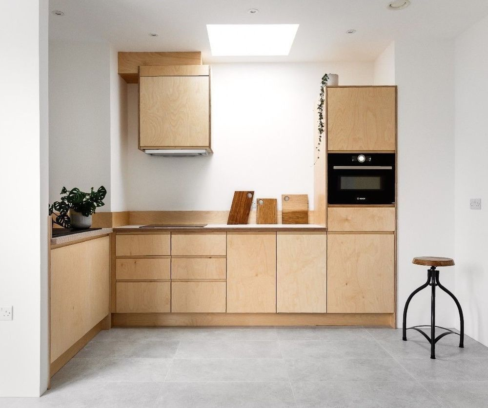Best Baltic Birch Plywood Kitchen Doors Handmade In The Uk Can 400 x 300