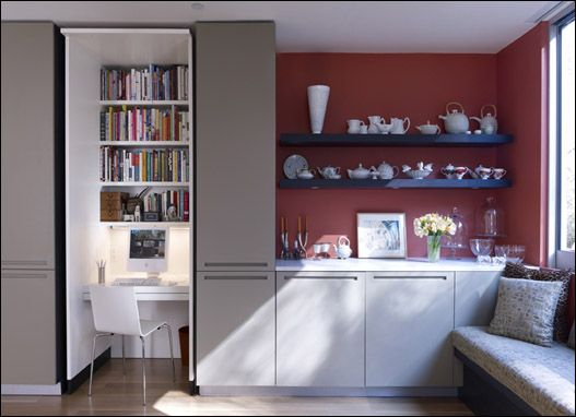 Interesting possibilities to riff on this in LR alcove /LR Alcove