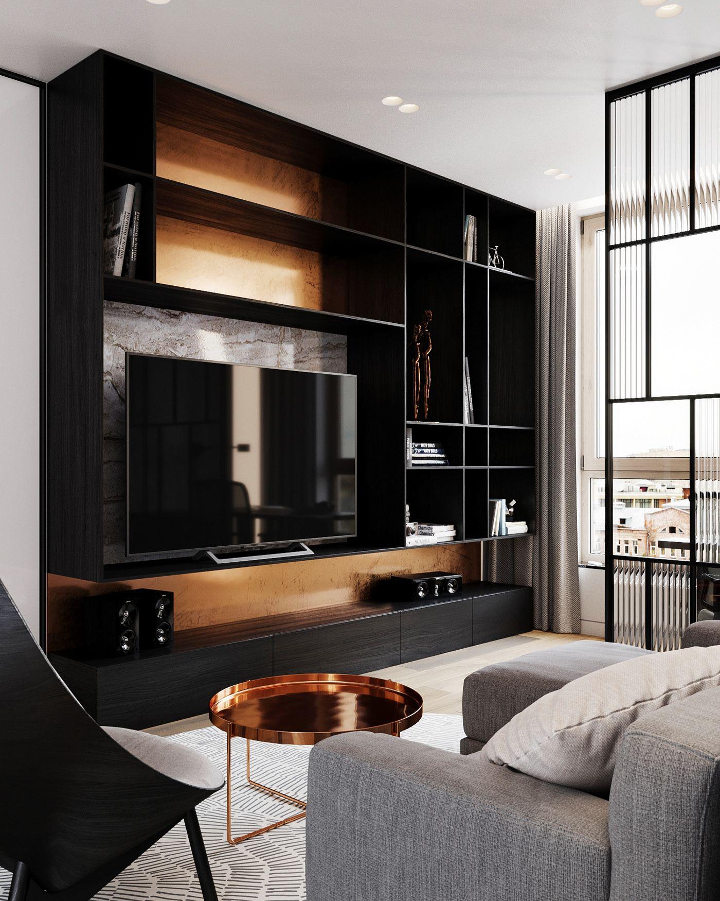 Behance For You New bedroom design, Flat design, Interior