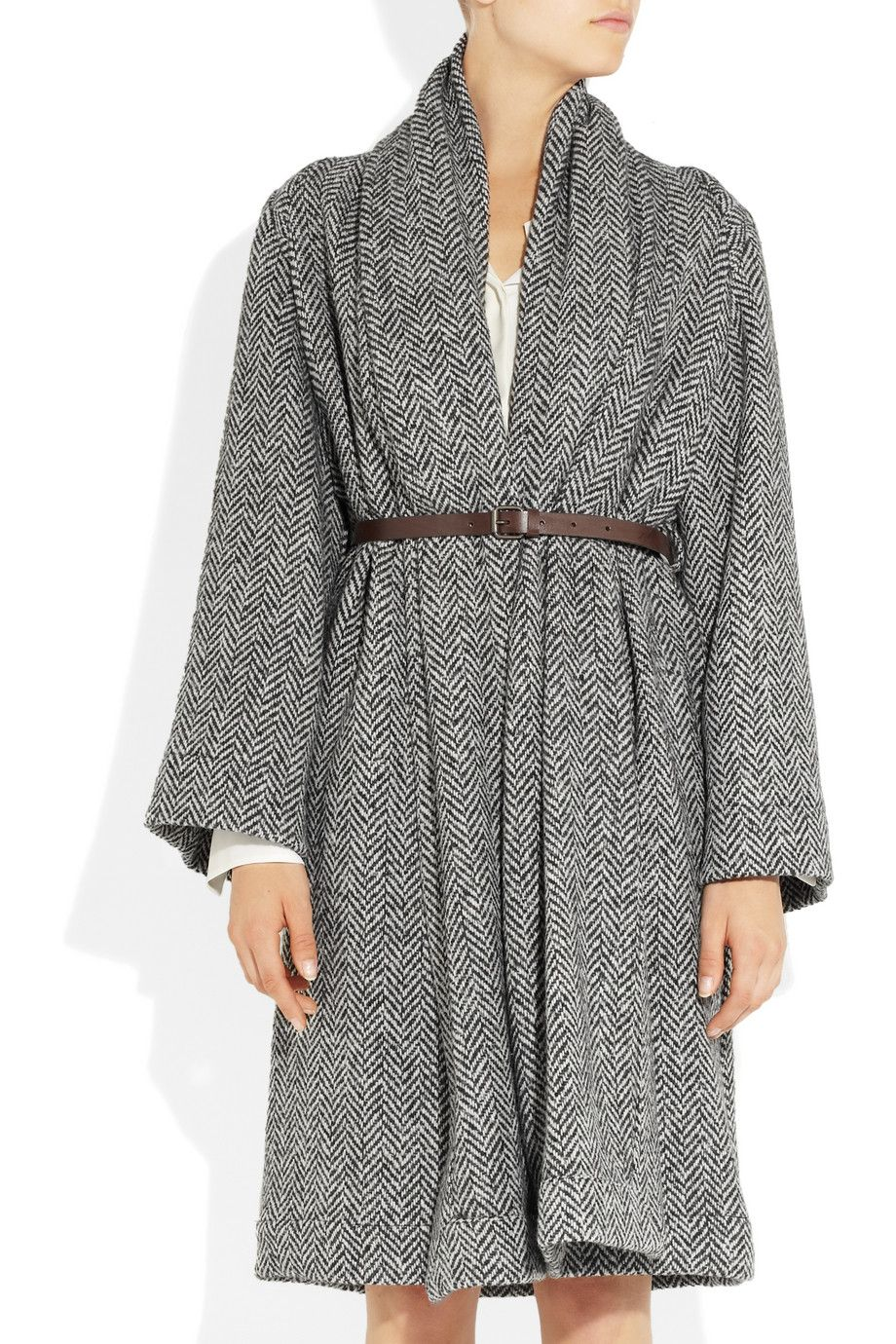 Vivienne Westwood Anglomania | Classic Gainsborough wool-blend coat