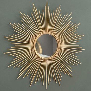 Miroir en mtal dor H 99 cm MAGELLAN Lappartement Pinterest