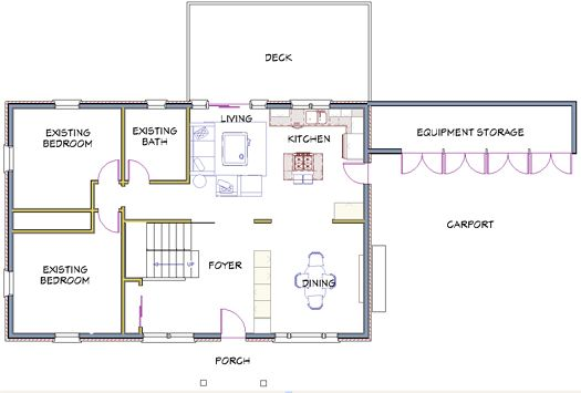 Floor Plans Ranch House